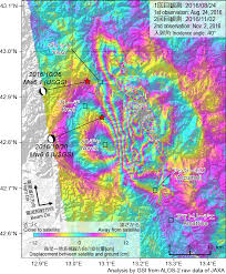 Italy Earthquake Map The October 2016 Central Italy Earthquake Crustal Deformation