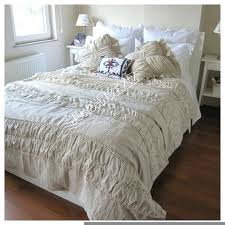 rustic chic duvet covers linen coverlet shabby chic bedding sets