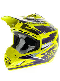 yellow motocross helmet troy lee designs yellow purple 2013 se3 cyclops mx helmet troy