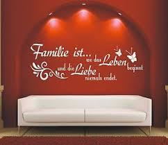 familie sprüche g576 spruch wandtattoo familie ist wo das leben liebe aufkleber