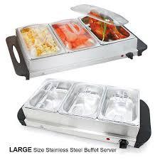 Stainless Steel Buffet Trays by Buffet Servers Warmers Buffet Server Food Warmer Tray