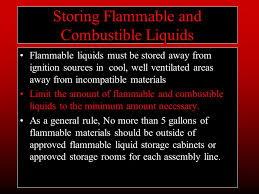 what should be stored in a flammable storage cabinet goals of a fire prevention program fire prevention strategy