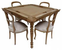 game table and chairs set victorian game table chair set 3 800 est retail 1 400 on for