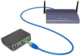 Design A Home Network Connected By An Ethernet Hub How To Configure The Network Settings On The Wd Tv Live Hd Media
