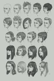 hairstyle study by artofhkm on deviantart