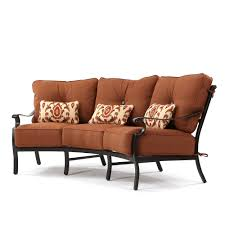 Curved Patio Sofa by Monterey Curved Sofa