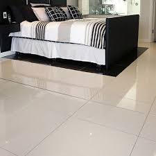 white polished porcelain pre sealed 60x60 wall floor tile
