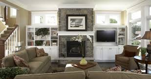 Image Detail For Living Room Family Room Traditional Living - Family room built in cabinets