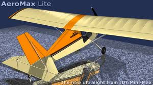 aeromax lite ultralight aircraft youtube