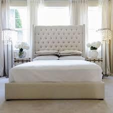 King Upholstered Platform Bed Upholstered Platform Bed King Full Size Modern Platform Bed With