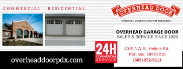 Overhead Door Portland Or Overhead Door Company Of Portland Home