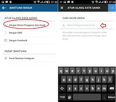 cara membuat akun instagram secara online cara reset ketika lupa password instagram saat tidak bisa login