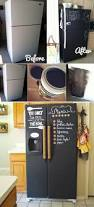 Chalk Paint Ideas Kitchen by Best 25 Painted Fridge Ideas On Pinterest Fridge Makeover