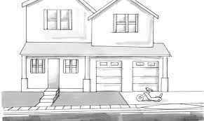 house drawings simple house drawing drawings