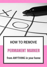 how to get permanent marker off table it s not permanent tips to remove permanent marker four plus an angel