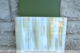 Back Painted Glass Backsplash  My DIY Trial Run - Painted glass backsplash