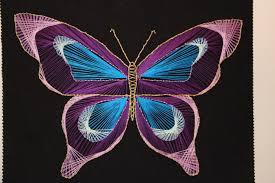 butterfly string art lanae u0027s life log