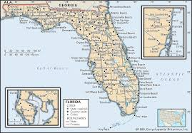 West Florida Map by Reference Map Of Florida Usa Nations Online Project Florida