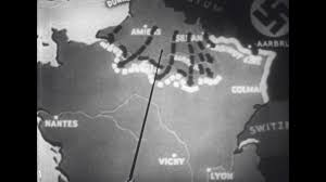 France On Map by United States 1930s Invasion Of France On Map Stock Video