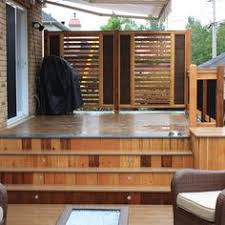 Outdoor Privacy Blinds For Decks Aluminum Slatted Privacy Screen The Garden Posts Pickets Portals