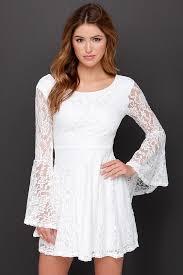 white lace dress white dress sleeve dress lace dress 38 00