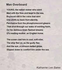 Comforting Poems About Death Man Overboard Poem By Katharine Lee Bates Poem Hunter