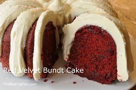 red velvet bundt cake recipe thebakingpan com