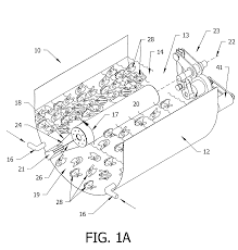 garage door sensor wire patent us8146380 rocker chiller with improved product moisture