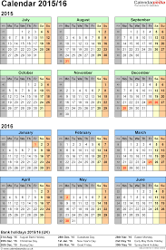 split year calendars 2015 16 july to june for pdf uk version