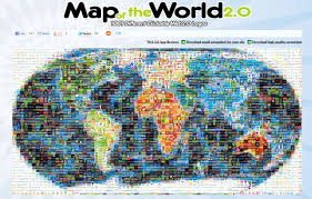 World Map App by Map The Web 2 0 World Osc Ib Blogs