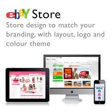 ebay template design store template design