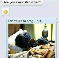 meme funny monster in bed steemit