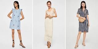 mango robes robes mango printemps été les 30 modèles qu on adore