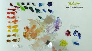 Color Painting by Mixing Color Painting With A Limited Palette Youtube