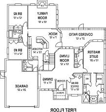 floor plans for a house open floor house plans with cost to build