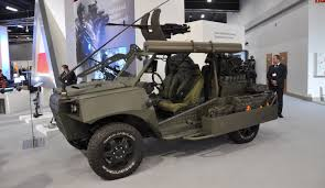 mitsubishi military jeep żmija vehicle becomes a part of the polish deep recon units