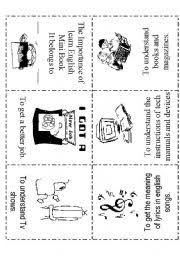english teaching worksheets mini book