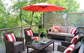 furniture small deck patio furniture on a budget creative and