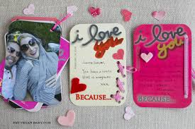 Homemade Valentine Gifts by Homemade Valentine U0027s I Love You Because U2026