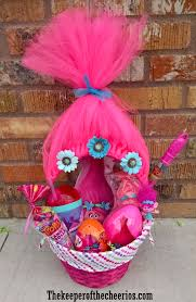 princess easter basket trolls easter basket idea