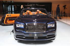 roll royce dawn rolls royce dawn first look review