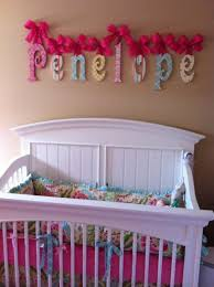 Baby Name Decor For Nursery Baby Nursery Decor Pink Color Baby Nursery Name Letters Furniture