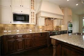 painted and stained kitchen cabinets tag for kitchens dark lowers and light uppers white upper cabinets