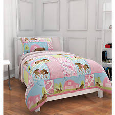 Pony Comforter Girls Horse Bedding Ebay