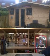 Backyard Shed Bar Pub Sheds U0027 Quickly Becoming Trend In Backyard Entertainment