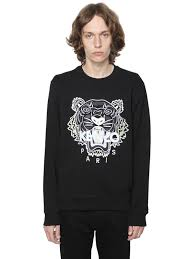 kenzo tiger dress sale online kenzo eye embroidered cotton