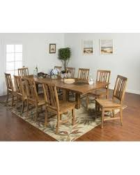 11 dining room set amazing deal sedona collection 1356rodt10c 11 dining room