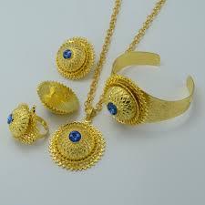 bluestone earrings aliexpress buy anniyo set gold color blue