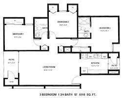 3 4 Bath Floor Plans by Rental Info Pebble Creek Apartments
