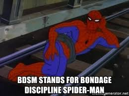 Spider Man Meme Generator - bdsm stands for bondage discipline spider man fabulous spiderman
